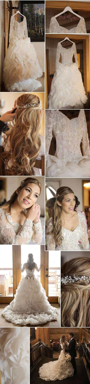 Brautkleid Winter Style: Die 17 schönsten Winter-Hochzeitskleider