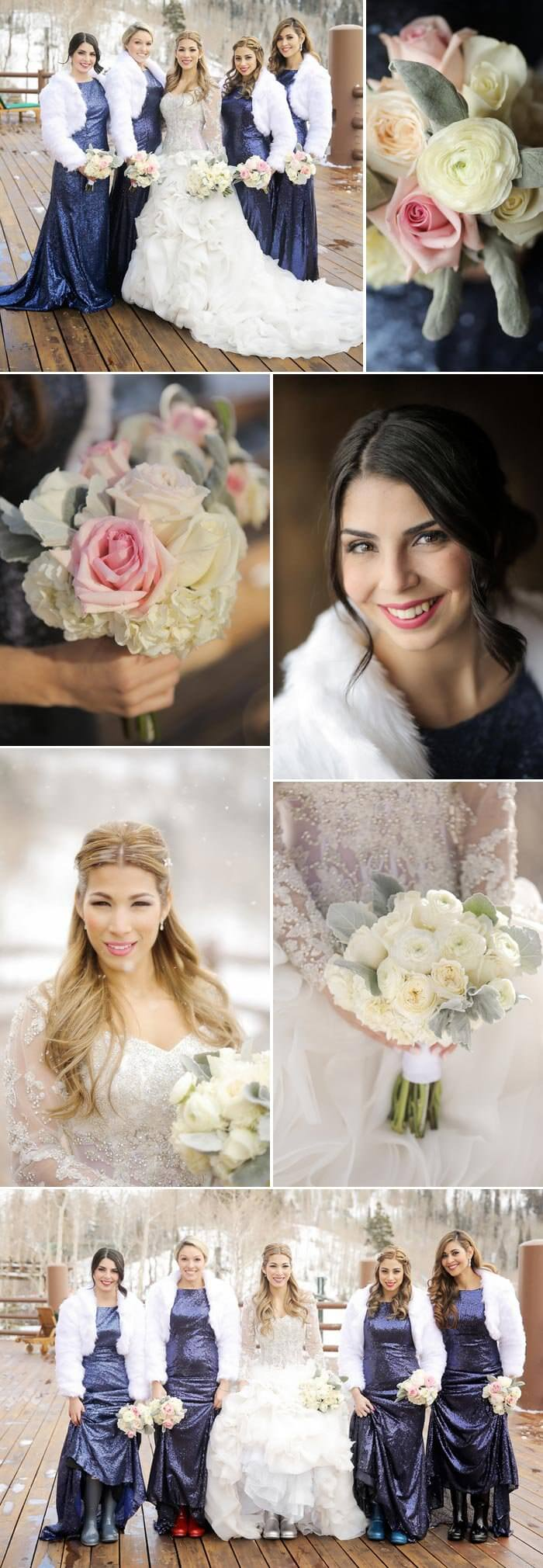 Winter Hochzeitskleid