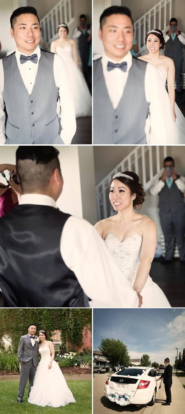 Chinesische Hochzeit First Look