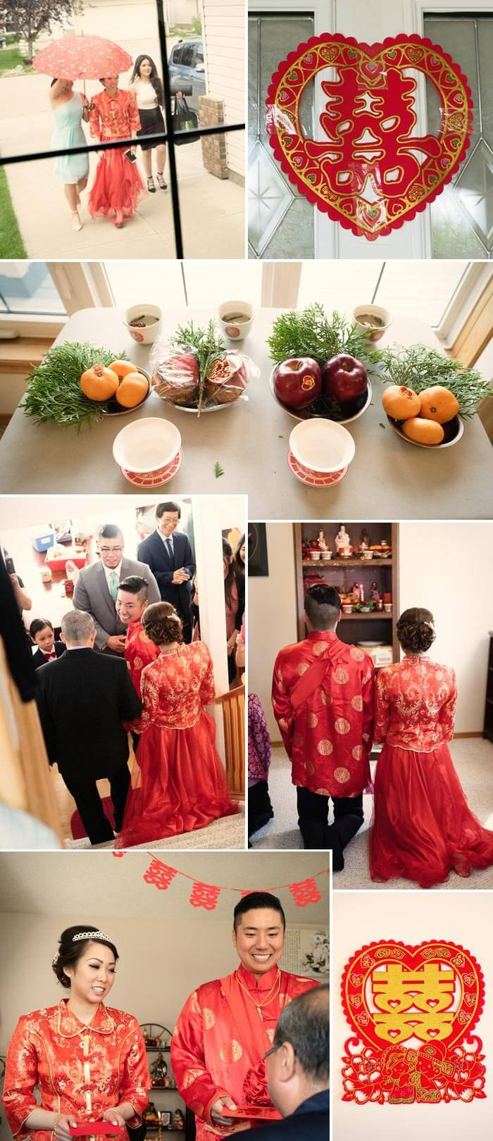 Chinesische Hochzeit Tee