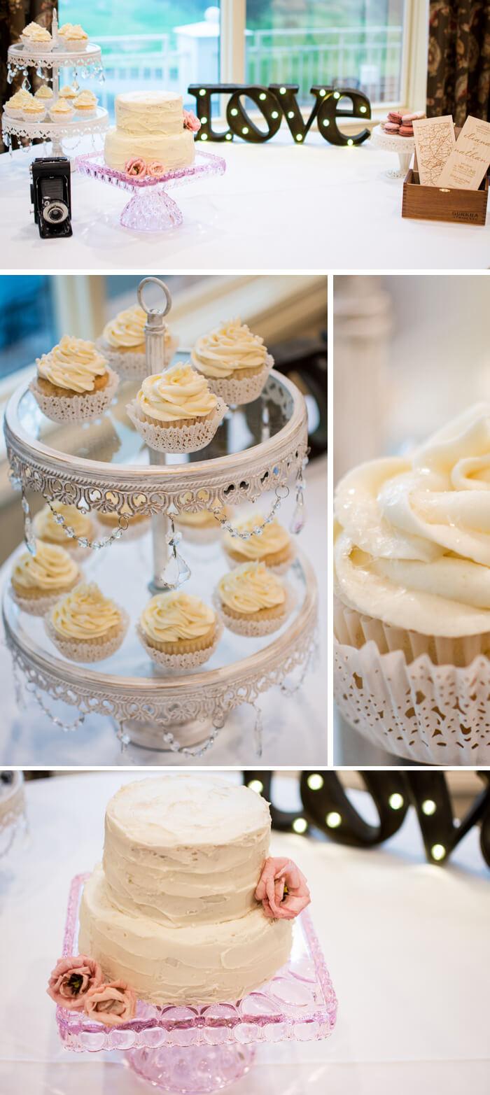 Candybar mit Cupcakes