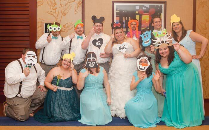 Disney Hochzeit Mit Arielle Und Micky Maus Fotostory