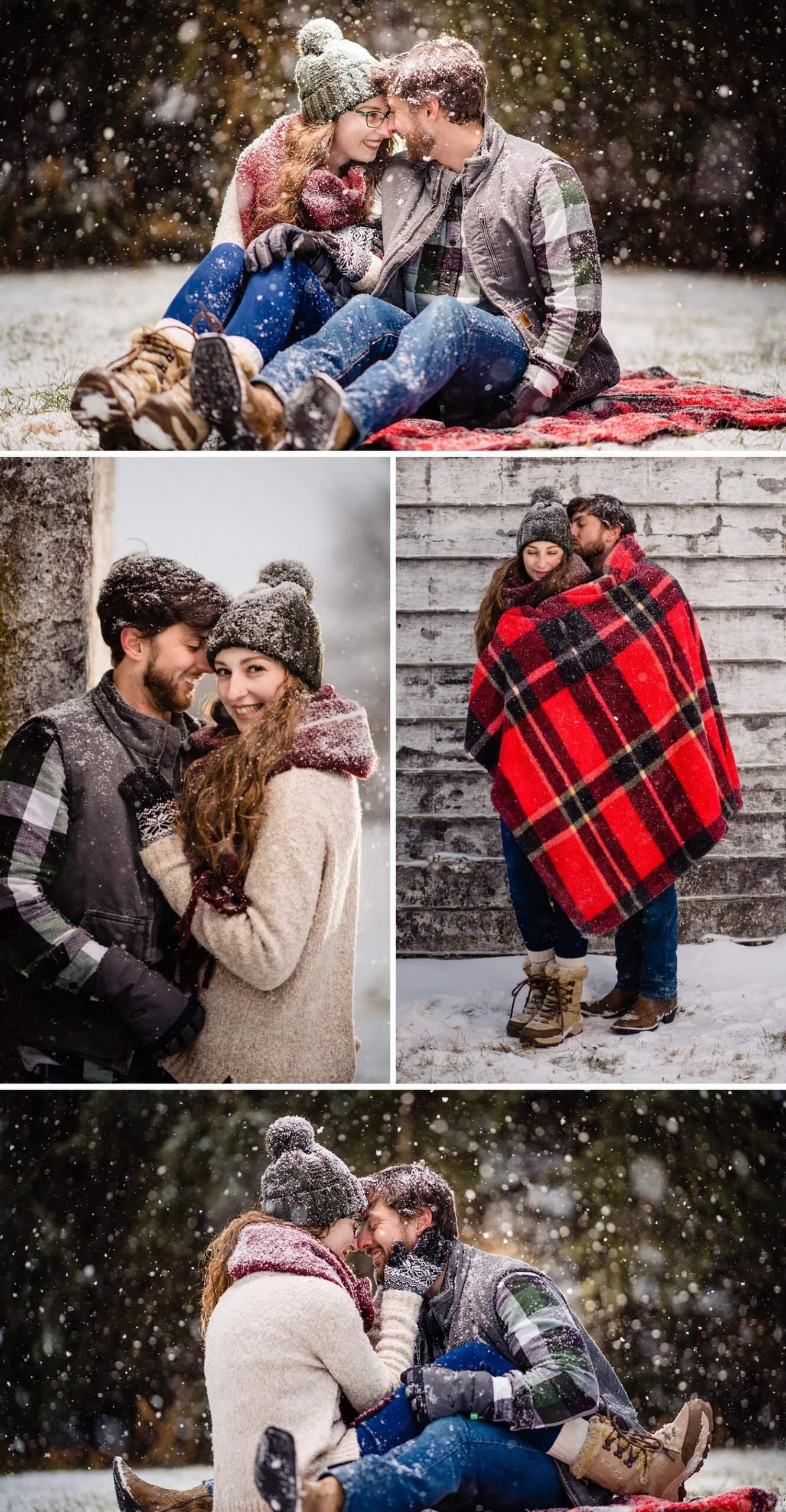 Verlobungsbilder Winter