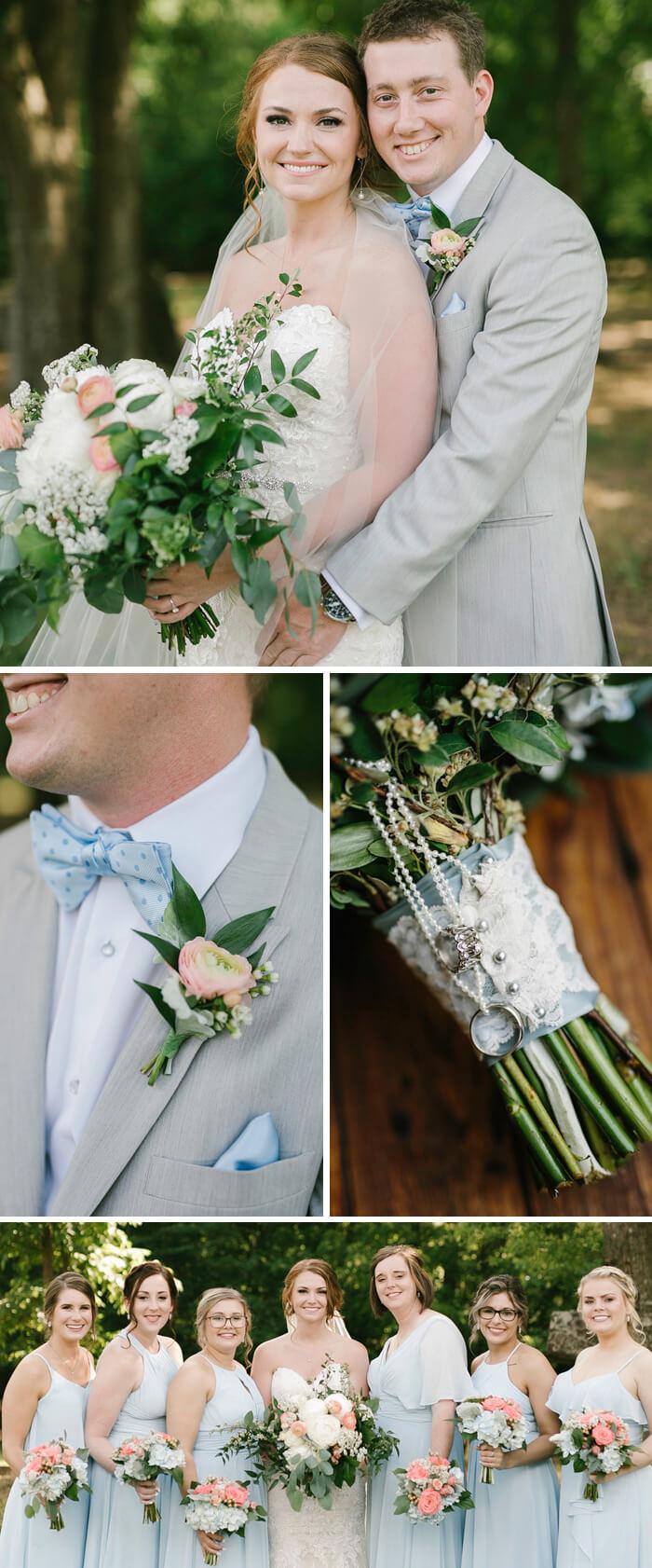 Frühlings Brautstrauß