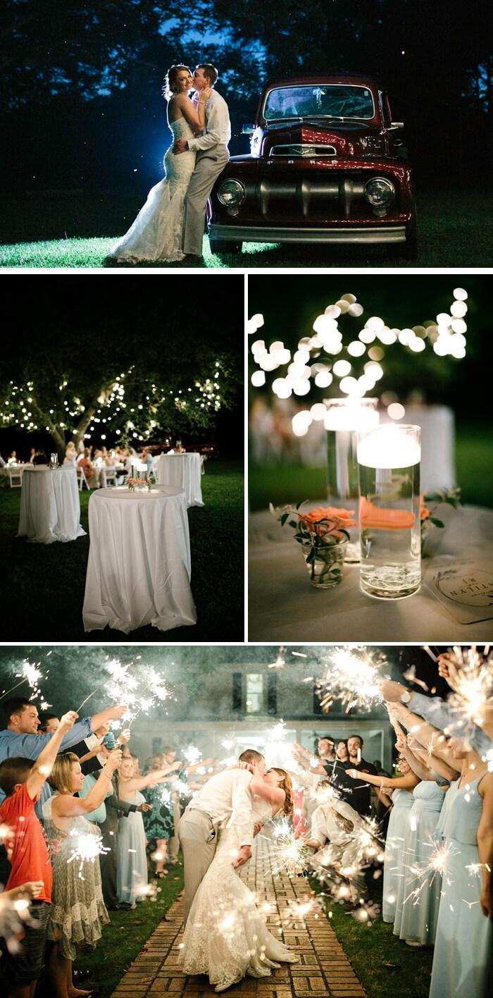 Hochzeitsbilder Abend