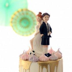 Tortenfiguren Hochzeit Fußball