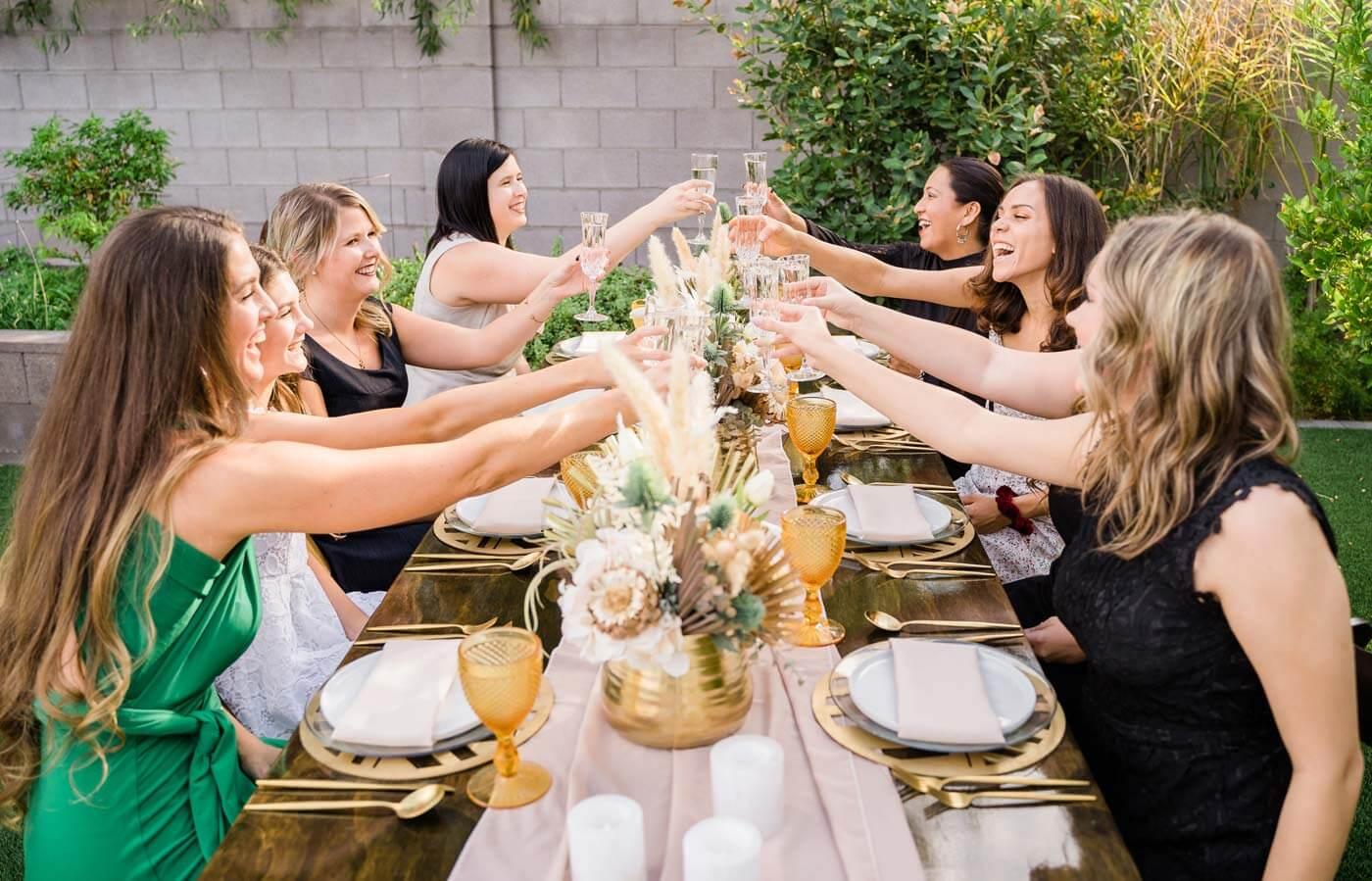 Hochzeit im Garten feiern
