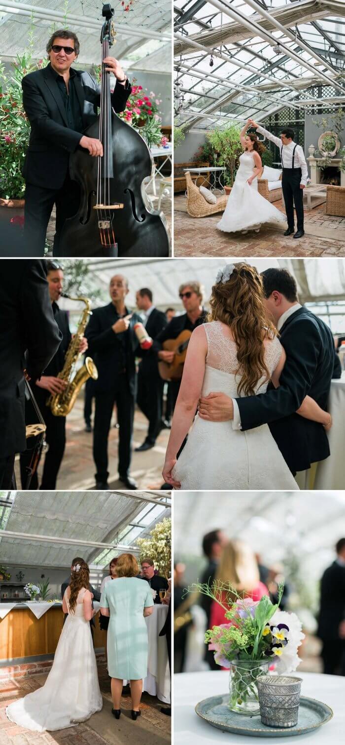 Glashaus Hochzeit