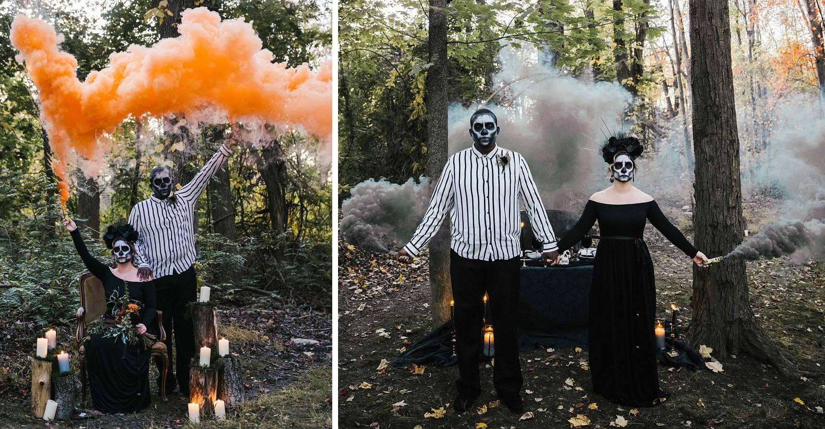Gothic Hochzeitsbilder