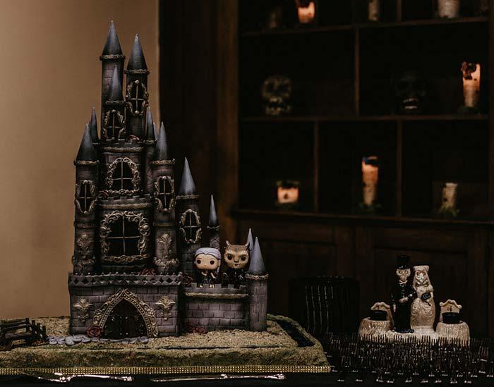 Hochzeitstorte Gothic
