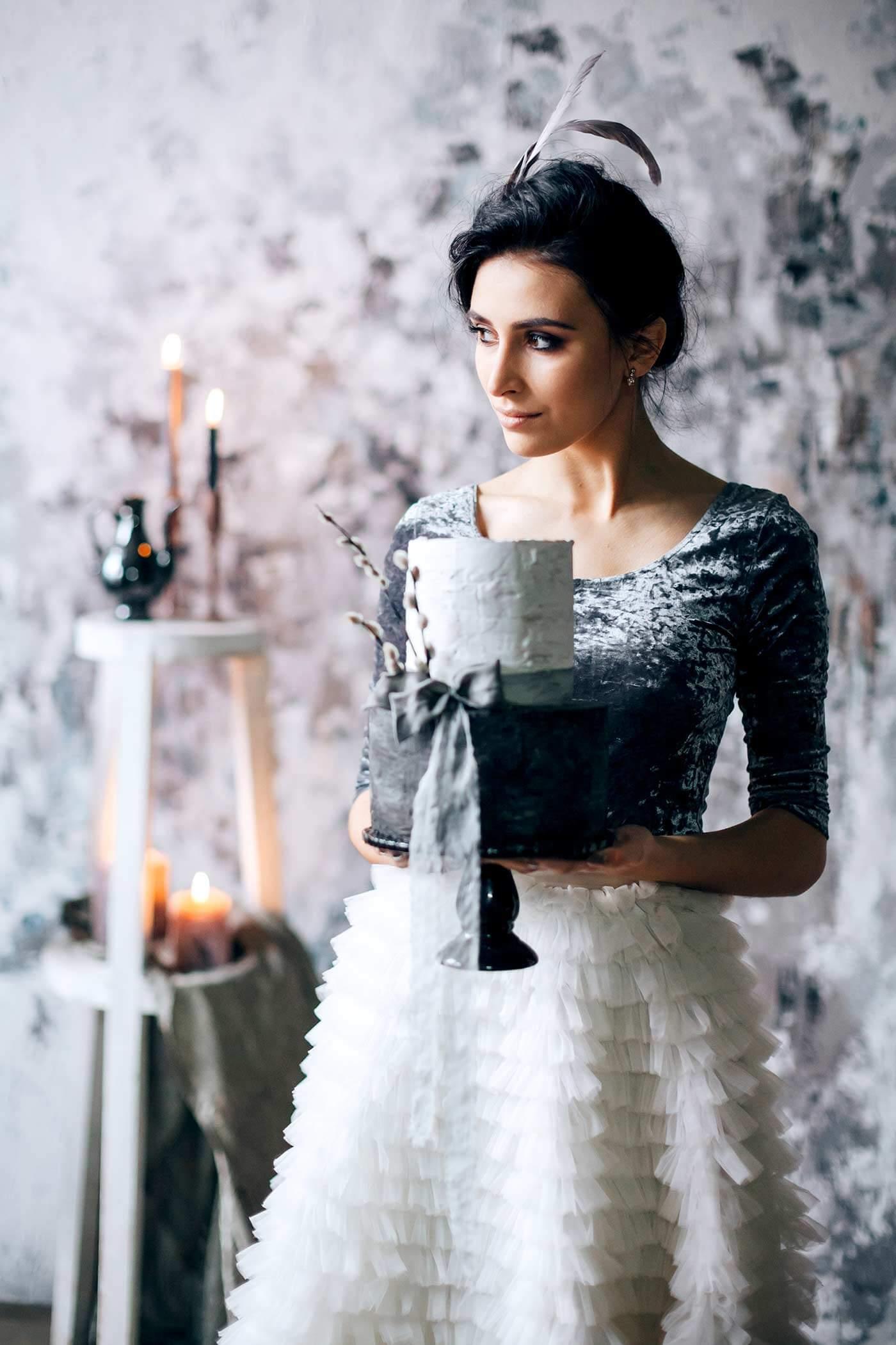 Gothic Kleider für Hochzeit