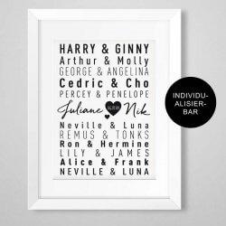 Harry Potter Hochzeitsgeschenk