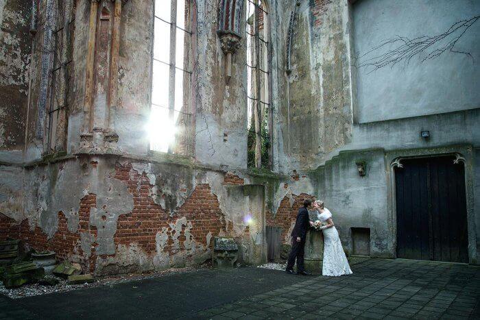 Besonderes Hochzeitsshooting