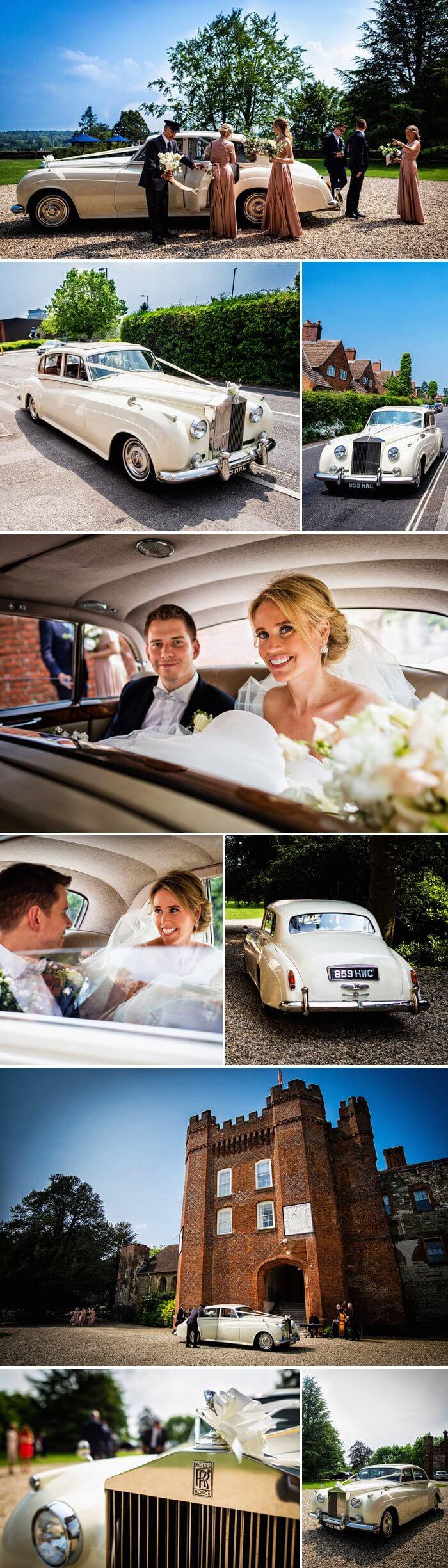 Hochzeitsauto Rolls Royce