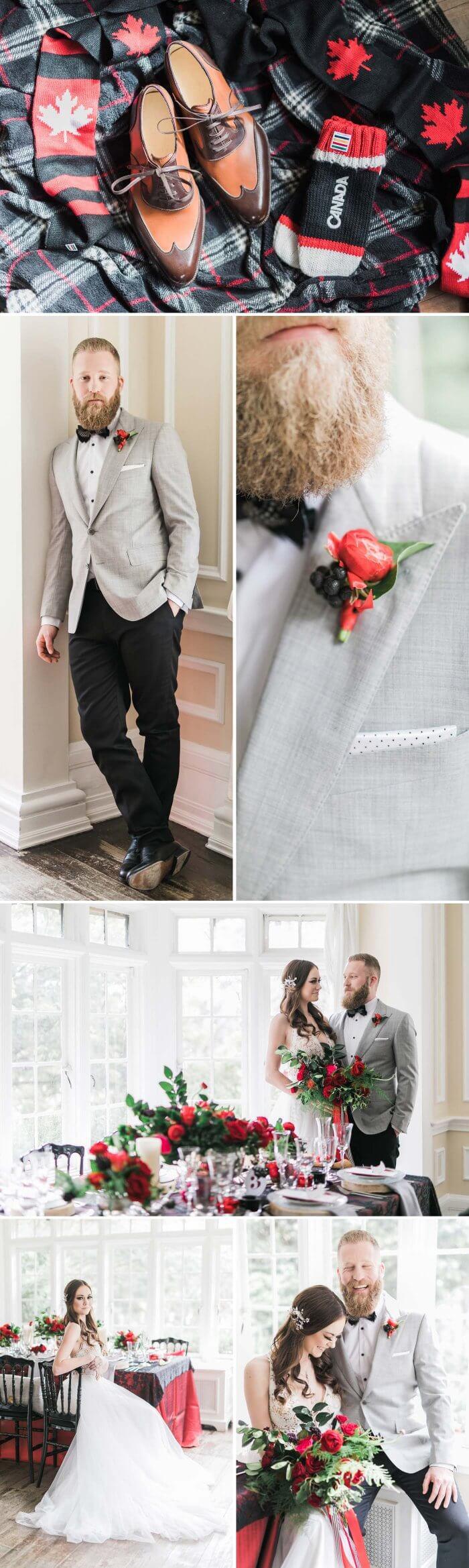 Kanadische Hochzeit