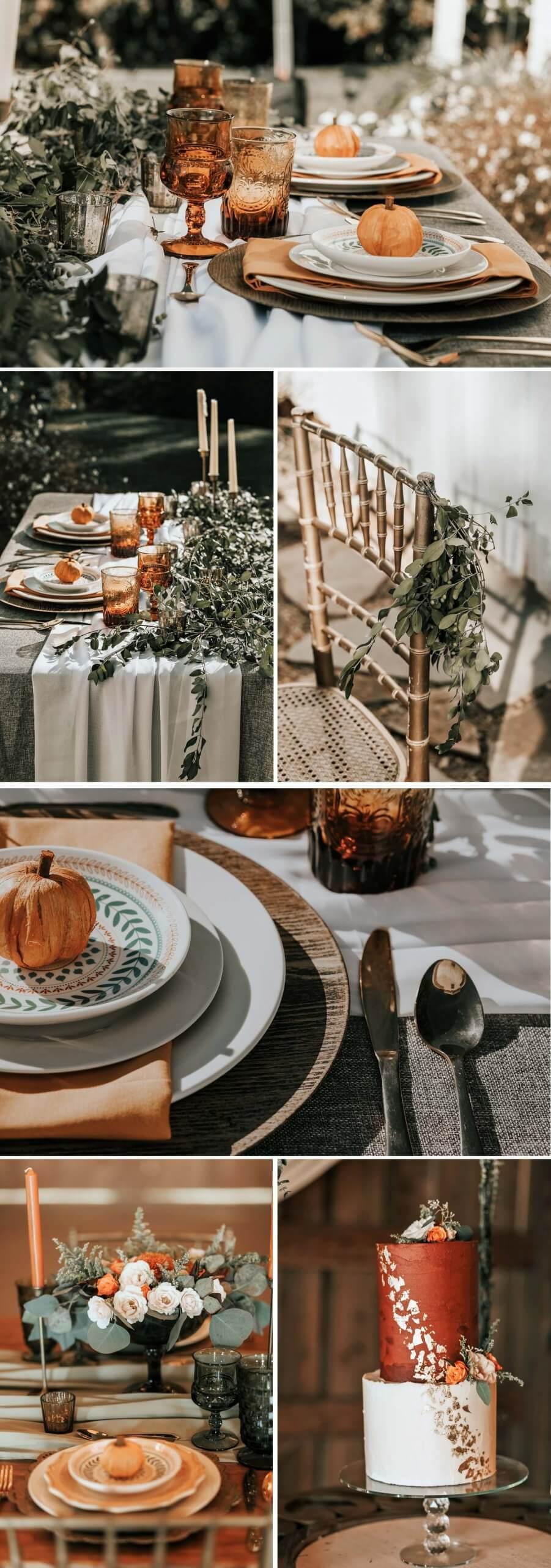 Deko Herbst-Hochzeit