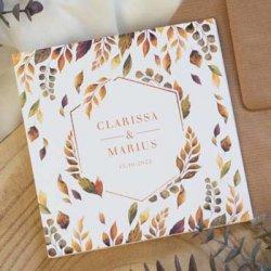 Einladungskarten Hochzeit Herbst