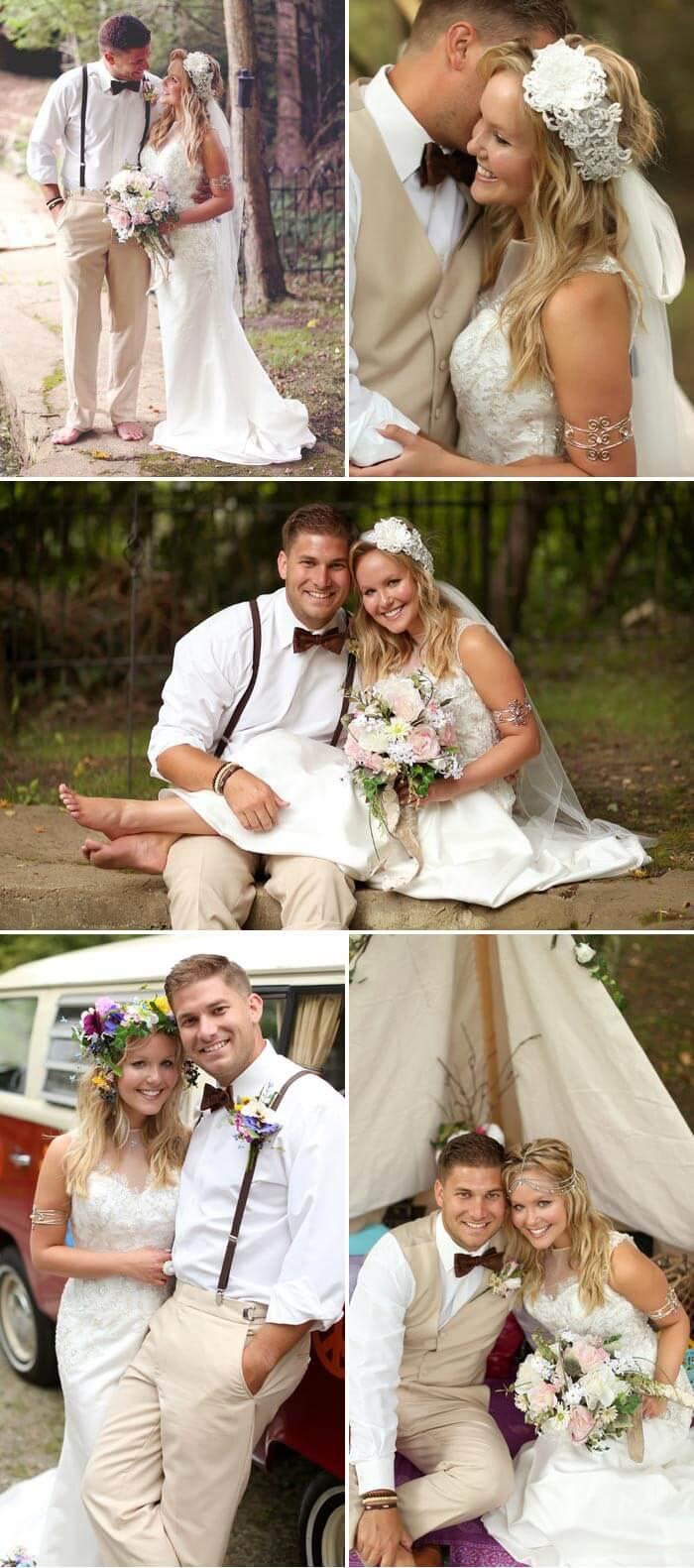 Boho Hochzeit Haarschmuck