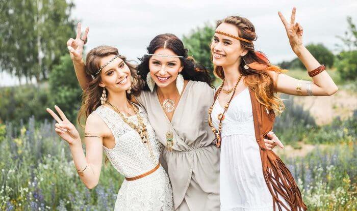 Hippie Kleid Hochzeit