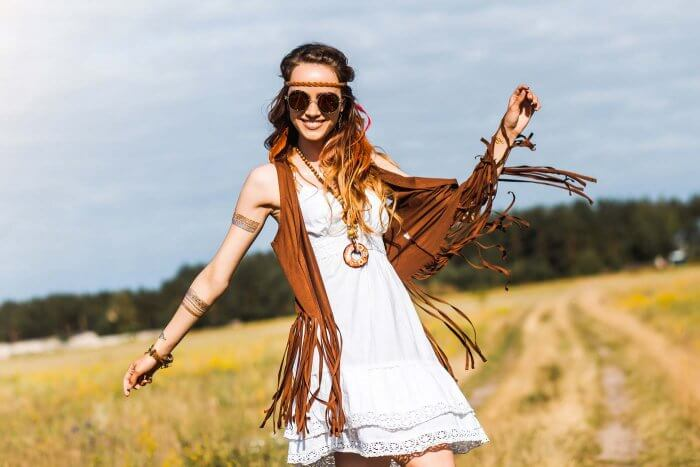 Hochzeitskleid Hippie