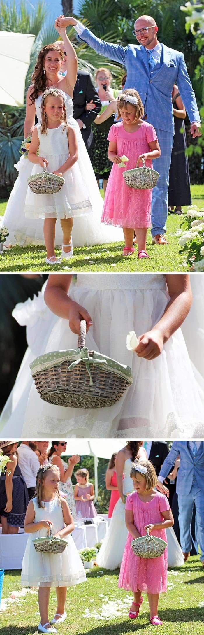 Hochzeit im Freien in der Schweiz