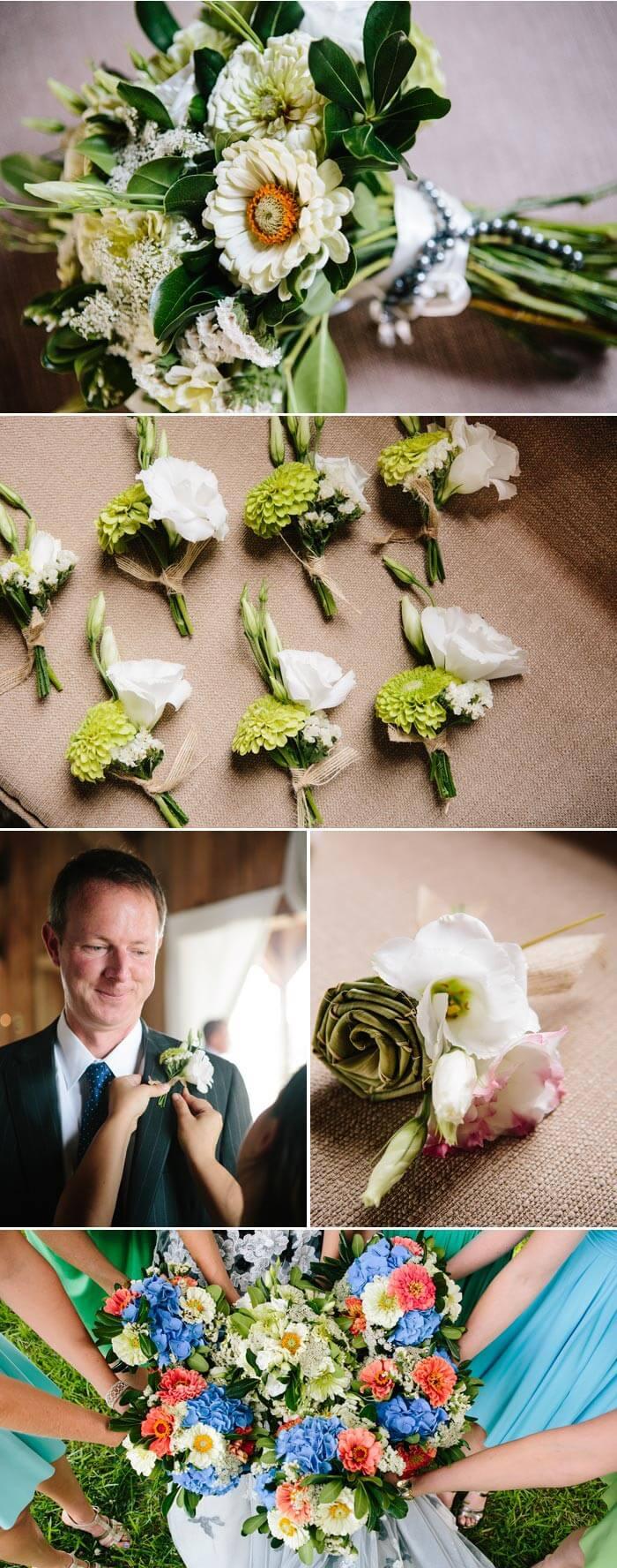Hochzeit am See: Der Brautstrauß