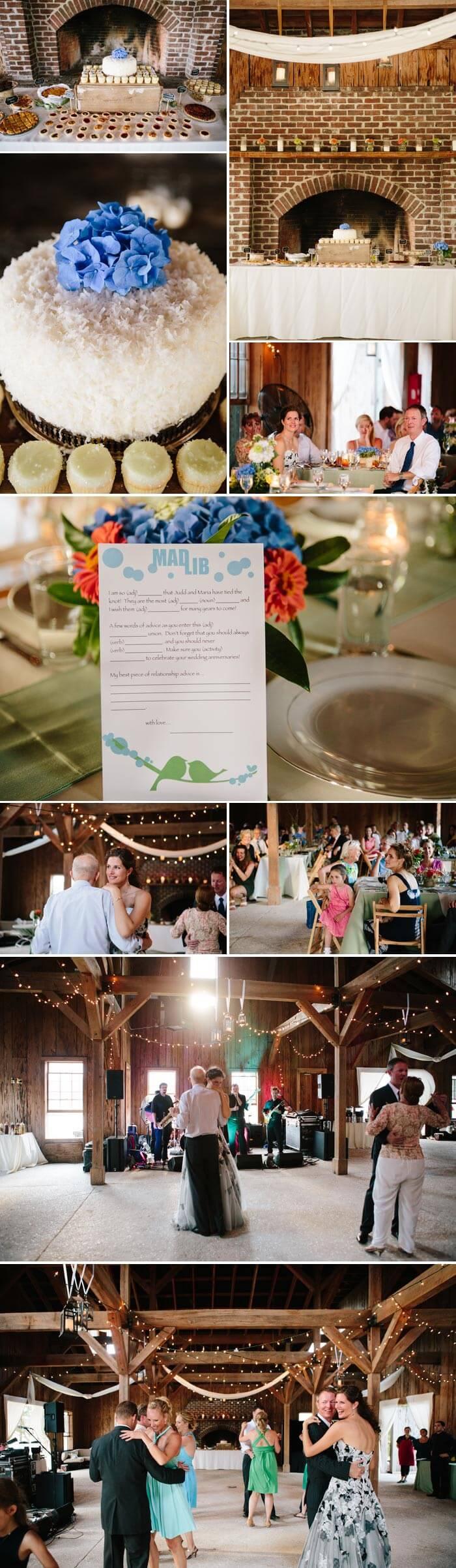 Hochzeit am See: Die Party