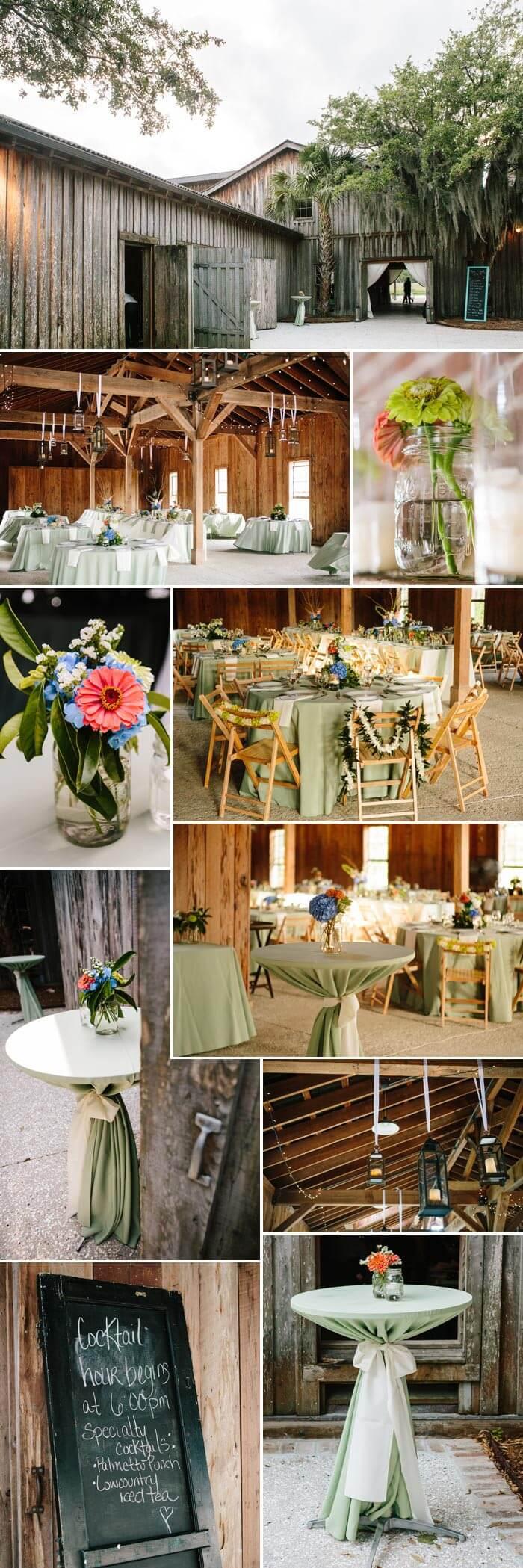 Hochzeit am See Partyscheune