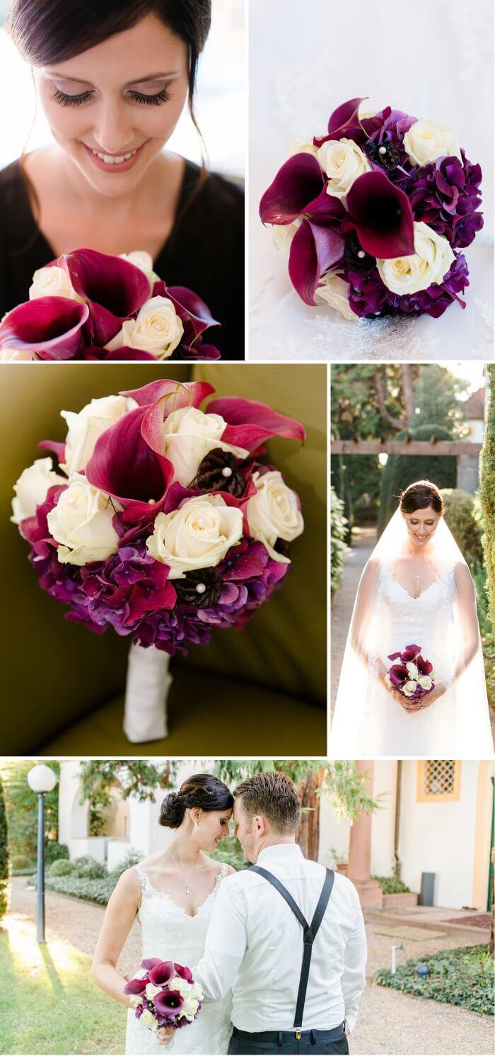 Hochzeit In Beerentone Eine Hochzeitsfarbe Die Verzaubert