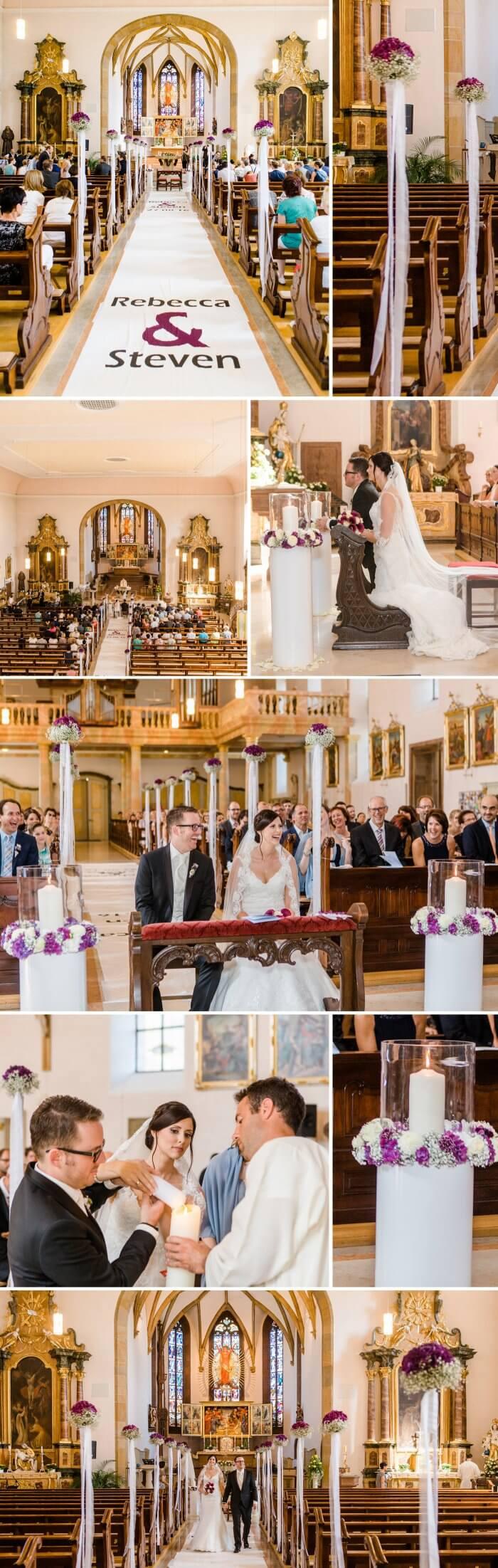 Hochzeitsdeko Beerentöne