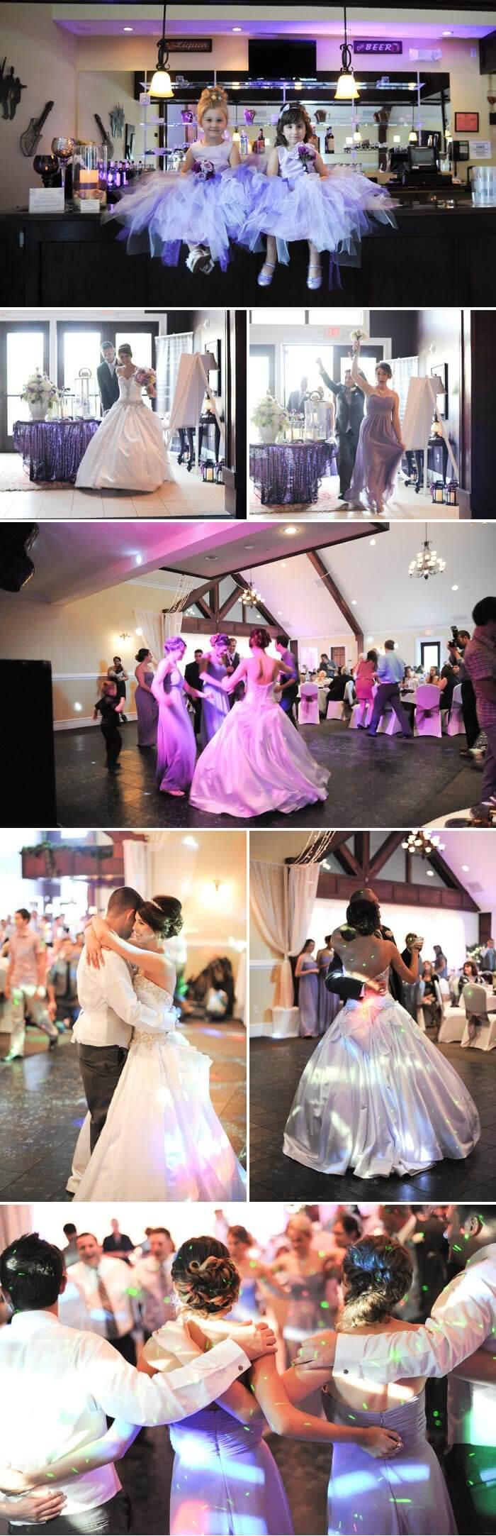Hochzeit in Flieder