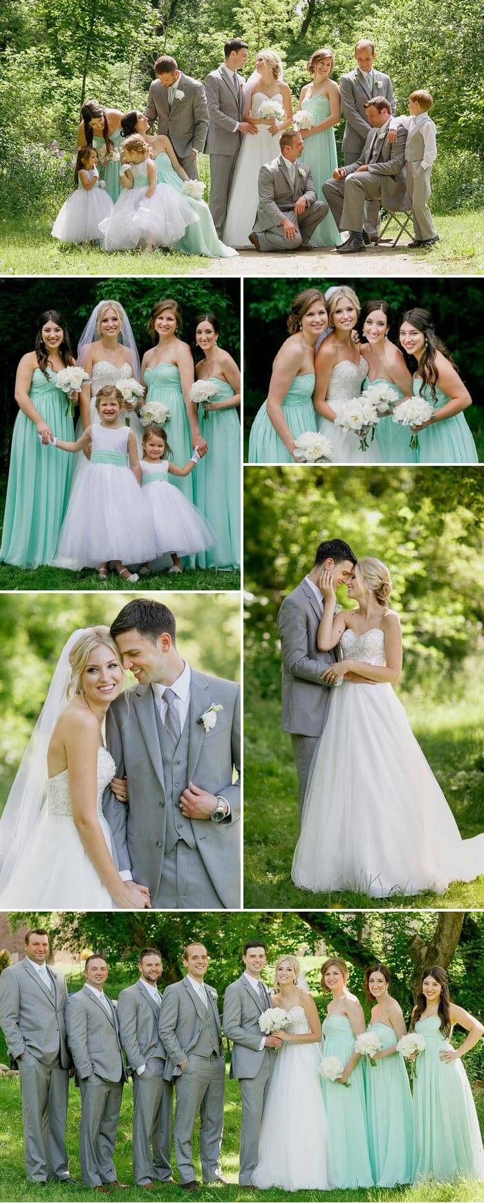 Hochzeit Mint