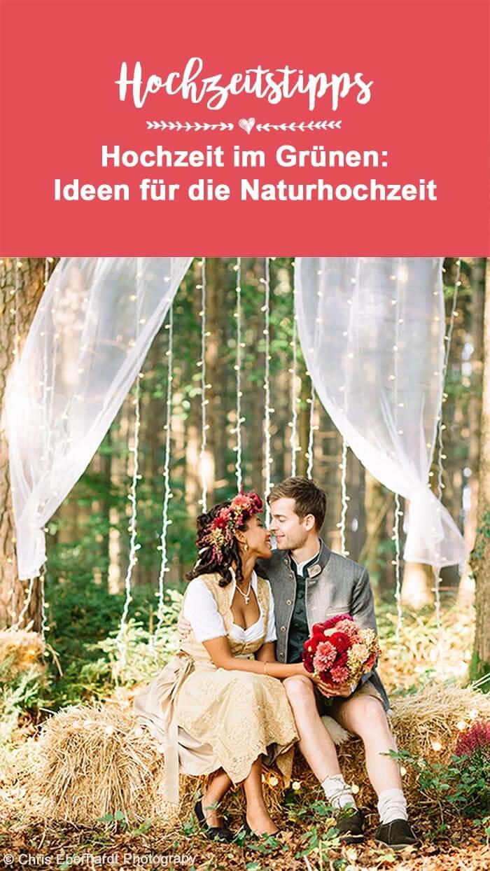 In der Natur heiraten