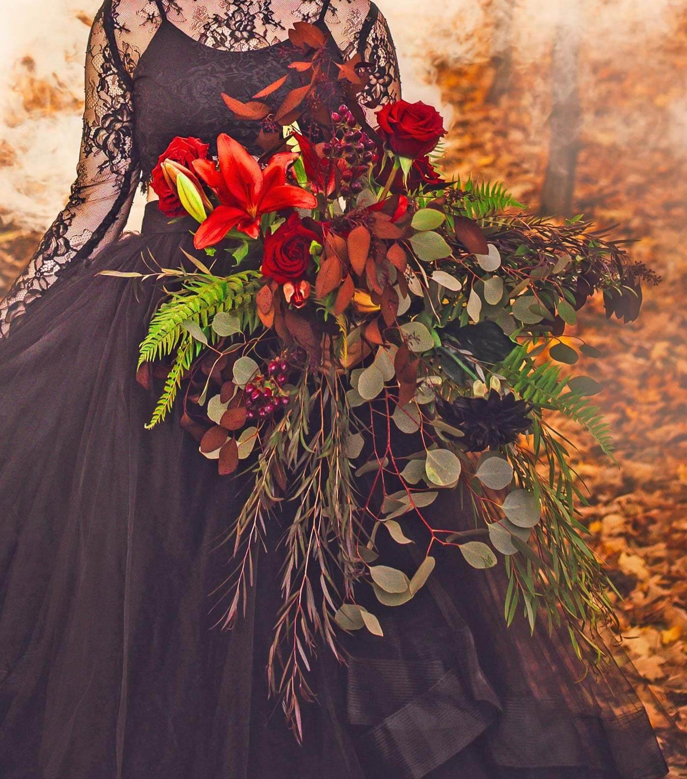 Brautstrauß Oktober vintage