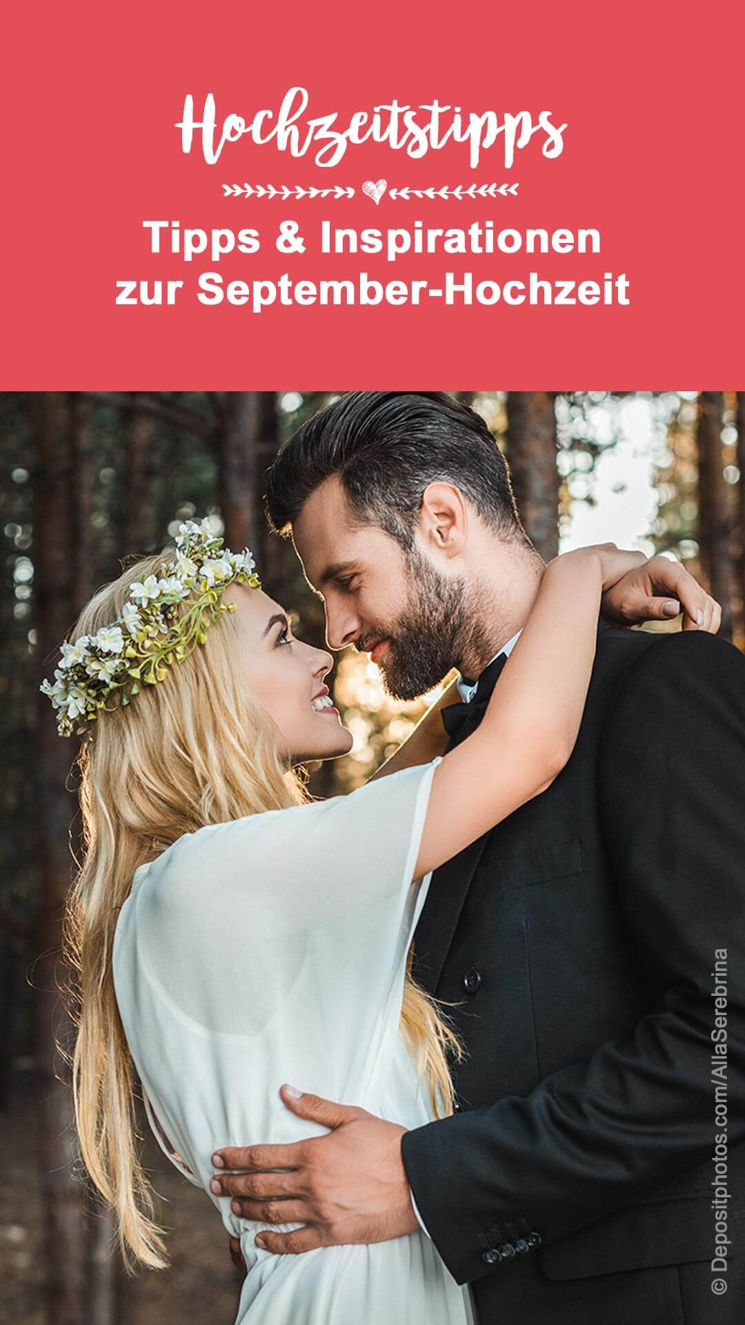 Hochzeit im September Tipps - The trends for your celebration in late summer