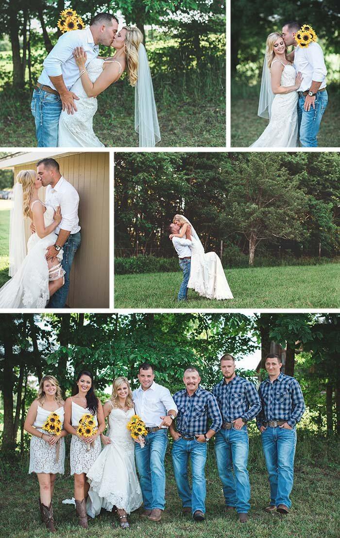 Jeans Hochzeit