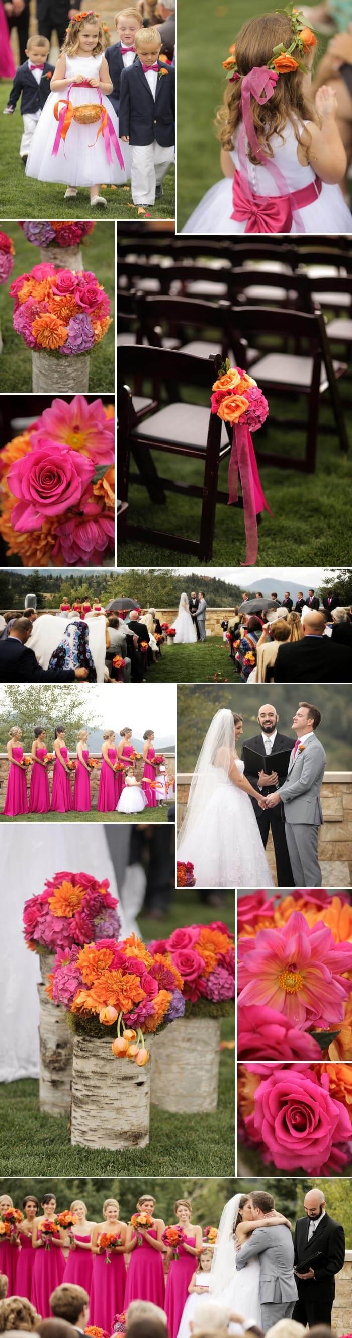 Pinke Hochzeit