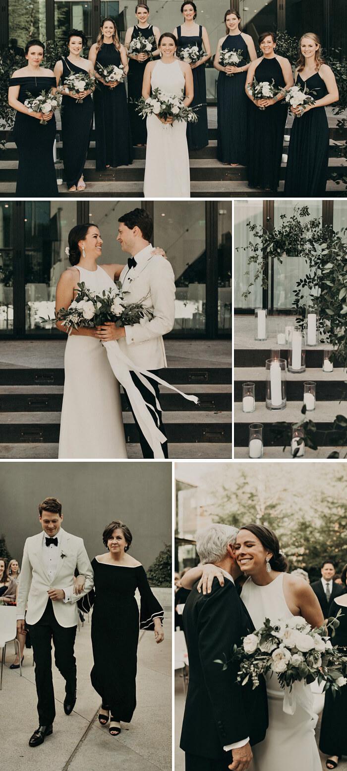 Hochzeitsgäste Schwarz