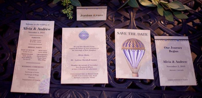 Hochzeitsmotto Reisen Einladung