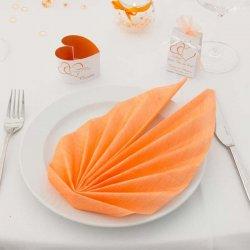 Servietten Apricot