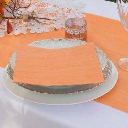 Tischdeko Hochzeit Apricot