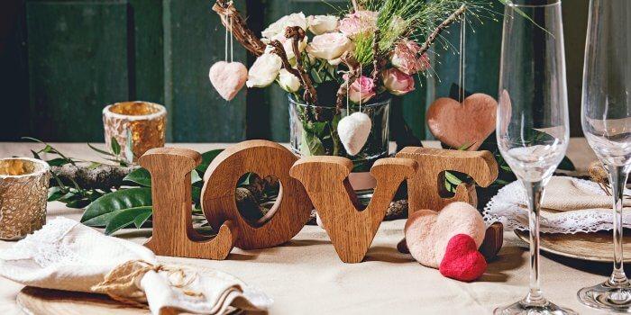Deko Hochzeit Holz