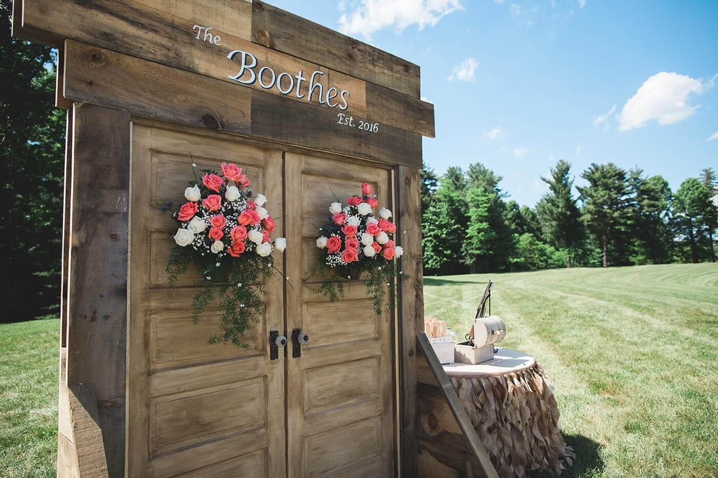 Hochzeitsdeko Holz