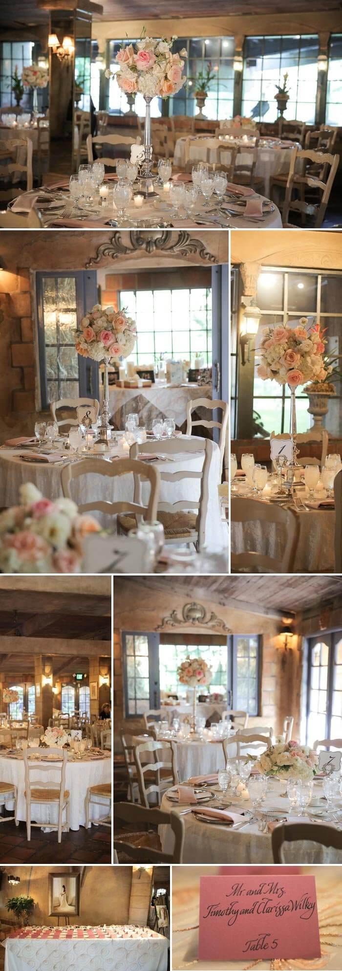Hochzeitsdeko Pastell