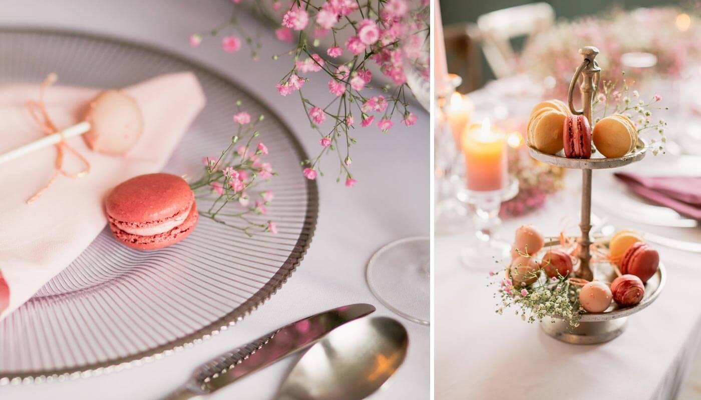 Hochzeit Macarons