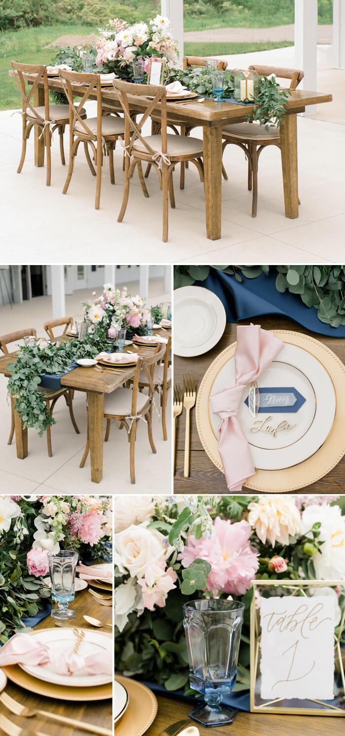 Hochzeit Tischdeko Rosa