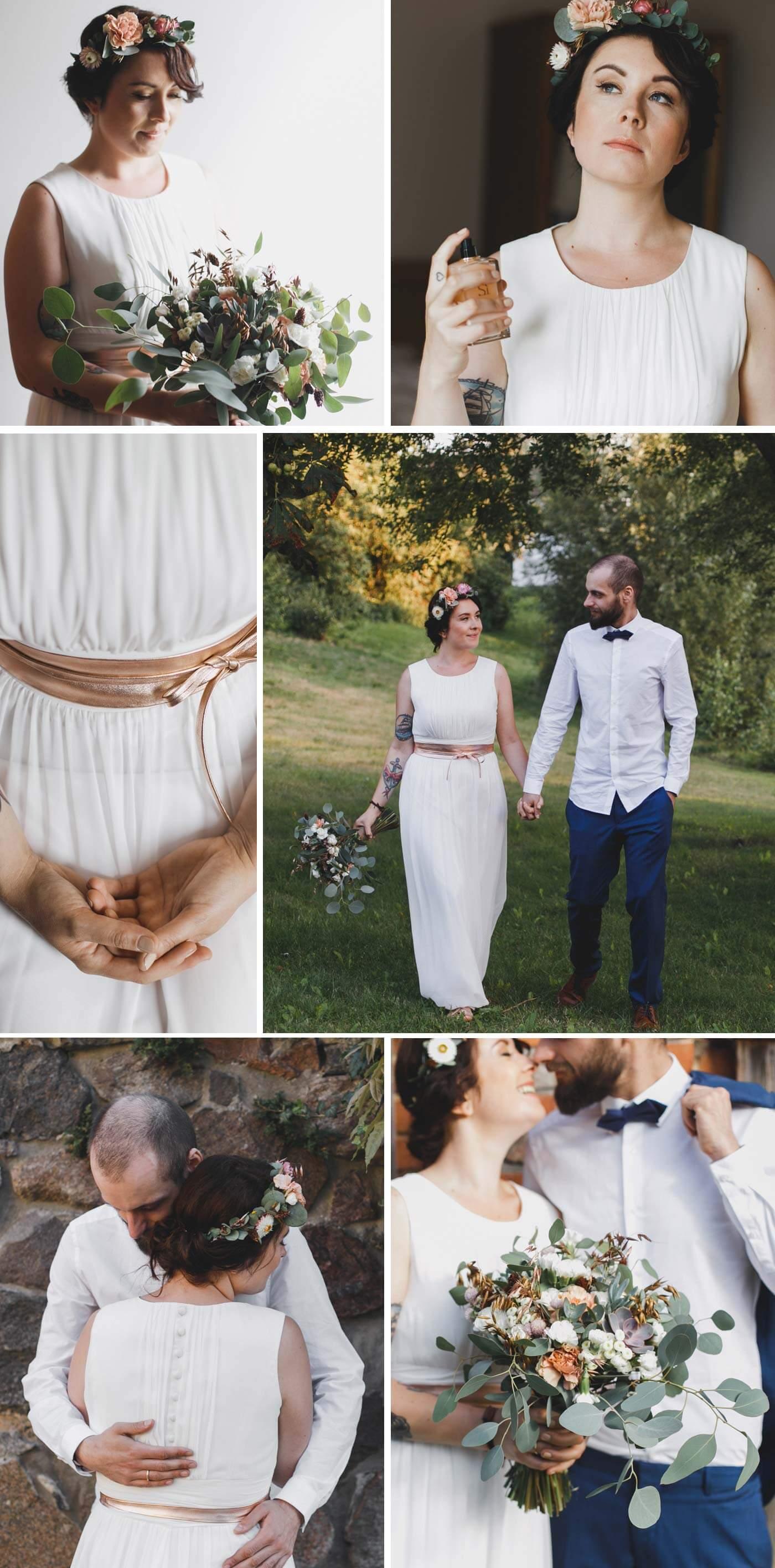 Hochzeit Rosegold