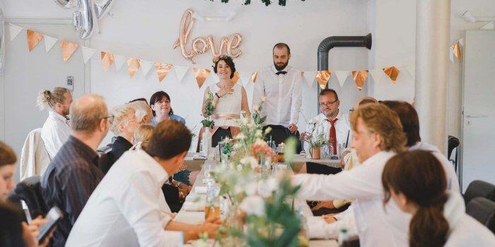 Rosegold Hochzeit