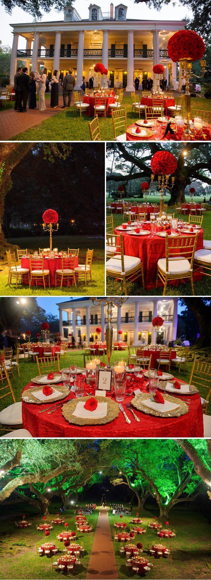 Deko Hochzeit Rot