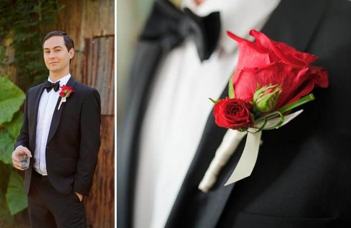 Rot zur Hochzeit
